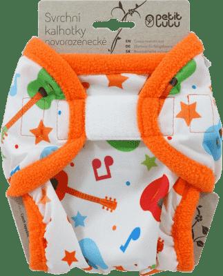 PETIT LULU Kytary - novorozenecké svrchní kalhotky