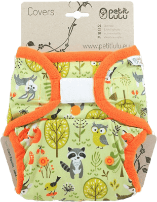 PETIT LULU SIO látkové pleny (4 – 15kg) – Lesní zvířátka