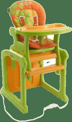 BABYPOINT Gracja Krzesełko – pomarańczowe