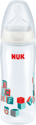 NUK Butelka First Choice + PP 360 ml – biała