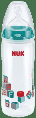 NUK First Choice+ PP 360ml láhev - zelená