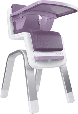 NUNA Jedálenská stolička Nu Zaaz – Plum