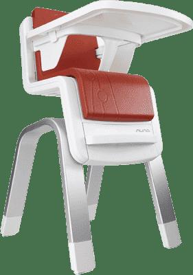 NUNA Jedálenská stolička Nu Zaaz - Scarlet