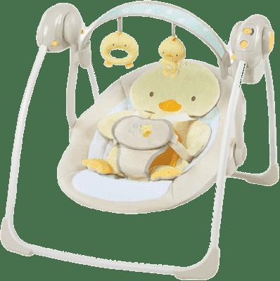 BRIGHT STARTS Huśtawka z melodiami Quacks&Cuddles™ 0m+, do 9 kg, 2016