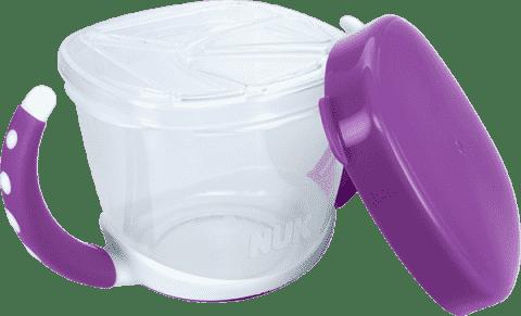 NUK EL Lunch box – fioletowy