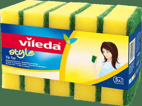 VILEDA Style Tip Top hubka (5 ks)