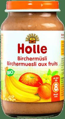HOLLE Ovocné müsli – dětská ovocná přesnídávka, 220g