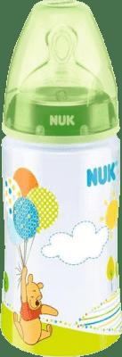 NUK FC+ Butelka Disney (silikon) 300 ml – zielona