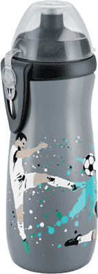 NUK FC Láhev PP Sports Cup, Silikon push-pull pítko, 450ml – fotbalista