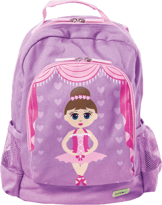 BOBBLE ART Dziecięcy plecak duży Baletnica
