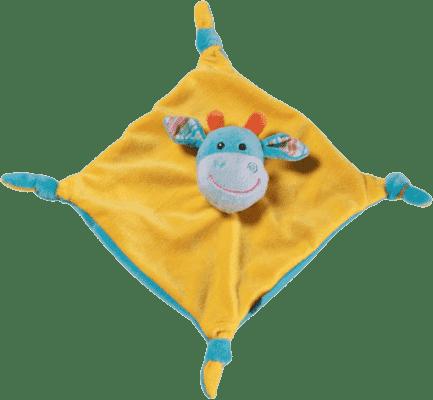 BABY ONO Hračka maznáčik oranžovo-modrá, 0m+