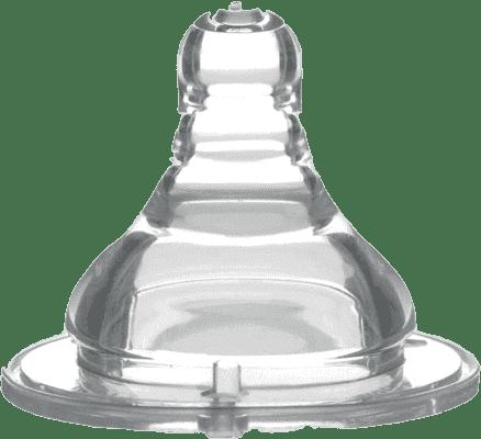 BABY ONO Dudlík široké hrdlo silikon, pomalý průtok, 0m+