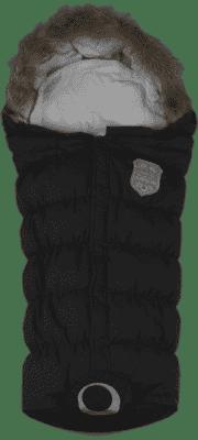 EASYGROW Flex Fusak do kočíka rastúci, Black
