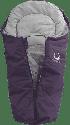 EASYGROW Mini Śpiworek do fotelika samochodowego, Purple