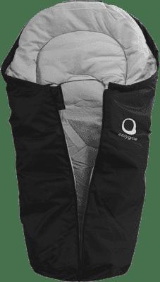 EASYGROW Mini Śpiworek do fotelika samochodowego, Black Melange 2016