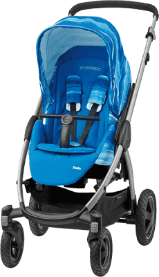MAXI-COSI Stella Športový kočík – Watercolour Blue