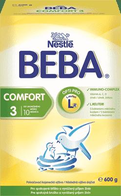 NESTLÉ BEBA Comfort 3 (600g) - kojenecké mléko
