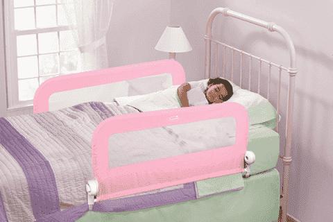 SUMMER INFANT Dwustronna blokada na łóżko różowa