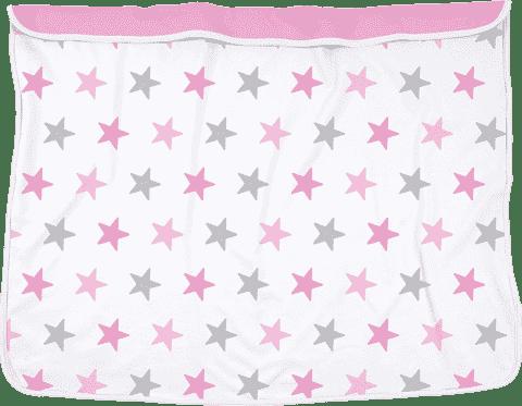 DOOKY Blanket deka Pink Stars/Baby Pink