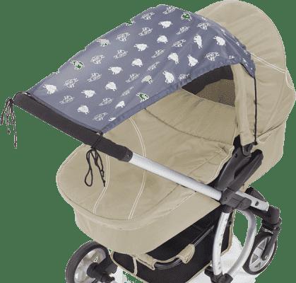 DIAGO Sunshine Sheep Awning Pram  daszek przeciwsłoneczny do wózka