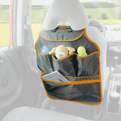 DIAGO Organizer do auta – pomarańczowy