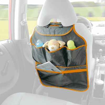 DIAGO Organizér do auta - oranžová