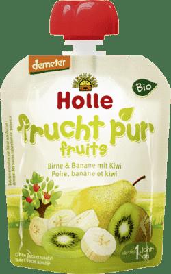 Expirace 15.6.2016: HOLLE Bio ovocné pyré hruška, 90g