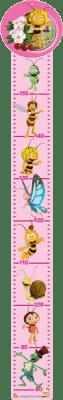 BINO Meter - Včielka Maja, ružový