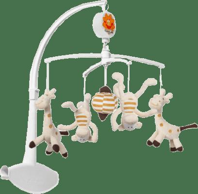 BABYONO Kolotoč hudební – Žirafa a Opice