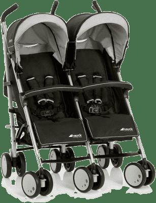 HAUCK Wózek bliźniaczy Torro Duo black 2016