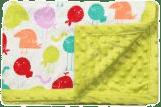 BABY ONO Deka s mikrovláknom-zelená