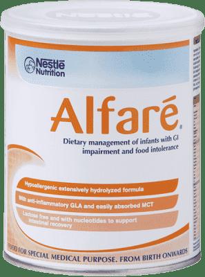 NESTLÉ Alfaré (400 g) – špeciálné dojčenské mlieko