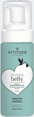 ATTITUDE Prírodný penivý gél na čistenie tváre Blooming Belly 150 ml
