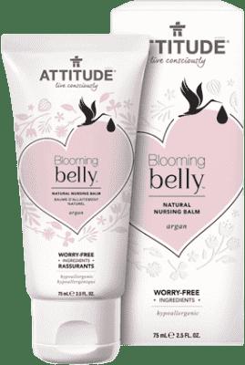 ATTITUDE Prírodný krém na bradavky Blooming Belly s argánom 75 ml