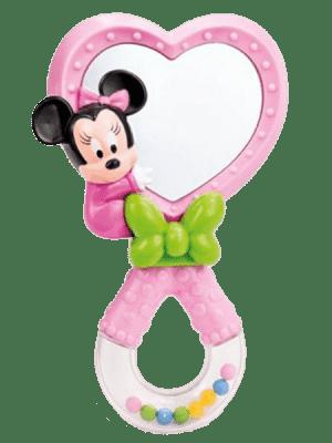 CLEMENTONI Minnie - hrkálka so zrkadielkom