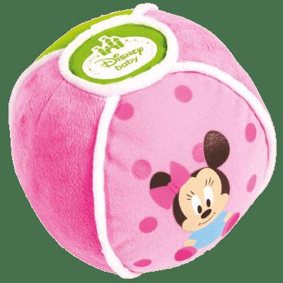 CLEMENTONI Minnie – Miękka piłka wydająca dźwięki