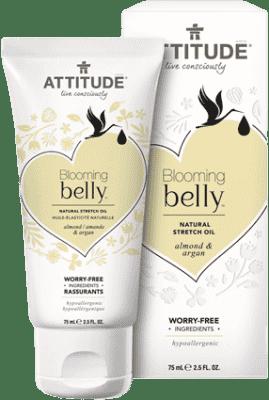 ATTITUDE Prírodný olej Blooming Belly argán a mandle 75 ml