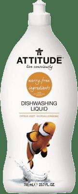 ATTITUDE Prostriedok na umývanie riadu s vôňou citrónovej kôry 700 ml