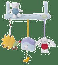 PIOUPIOU Merveilles Závěsná hračka na postýlku ježek Malli