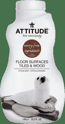 ATTITUDE Čistič na podlahy a drevo s vôňou citrónovej kôry 1040 ml
