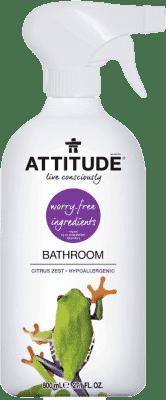 ATTITUDE Čistič na kúpeľne s vôňou citrónovej kôry s rozprašovačom 800 ml