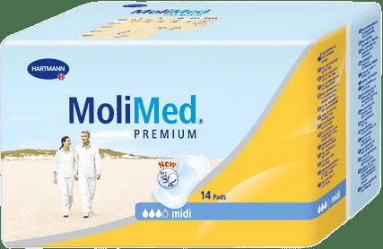 MOLIMED 14szt Premium midi wkładki poporodowe