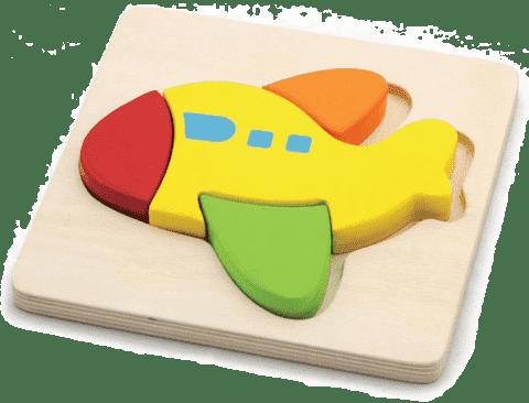 STUDO WOOD Puzzle letadlo