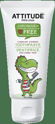 ATTITUDE Detská zubná pasta s príchuťou jahody 75g