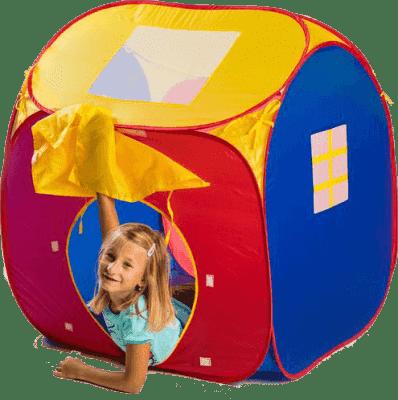 TEDDIES Dětský stan/domeček samorozkládací