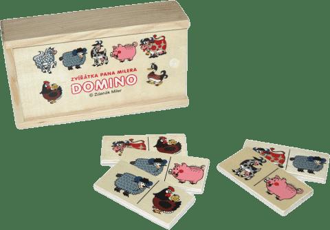 WIKY Domino zvířátka pana Milera