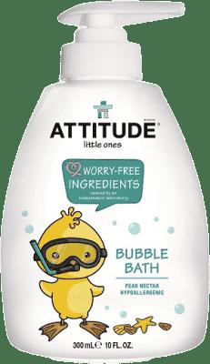 ATTITUDE Detská pena do kúpeľa s vôňou hruškovej šťavy - s pumpičkou 300 ml