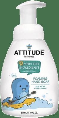 ATTITUDE Detské mydlo na ruky s vôňou hruškovej šťavy - s pumpičkou 295 ml