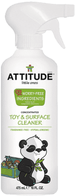 ATTITUDE Čistiaci prostriedok na detské povrchy/hračky bez vône 475 ml