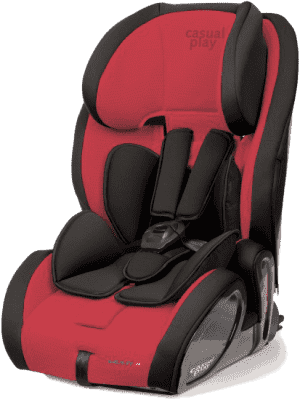 CASUALPLAY Fotelik samochodowy Multifix 9-36 kg 2015 - Flame
